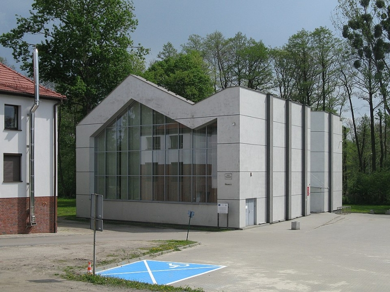 Centrum Usług Publicznych w Zbrosławicach / Adrian Tync - Praca własna / Wikimedia / CC BY-SA 4.0