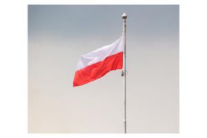 Masz z flagą Polski w Krupskim Młynie?