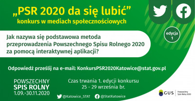 """grafika do wpisu: Startuje konkurs """"PSR 2020 da się lubić""""!"""