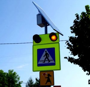 Kolejne aktywne przejście dla pieszych w naszym mieście już działa