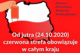 Epidemia: Cała Polska w czerwonej strefie, kolejne zasady bezpieczeństwa