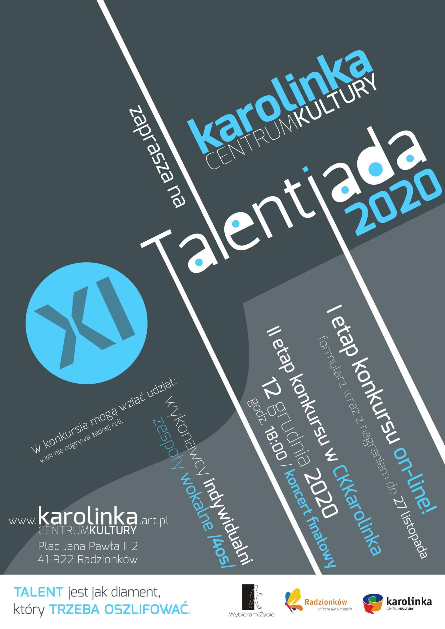 plakat Talentiada 2020
