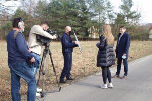 TVP3 o Alei Dębów oraz cisie Donnersmarcka