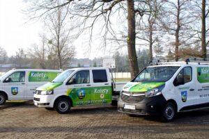 Nowy samochód dla miejskich służb wodno-kanalizacyjnych