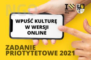 Zadanie priorytetowe 2021: dotacje przyznane