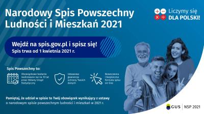 grafika do wpisu: Narodowy Spis Powszechny Ludności i Mieszkań 2021