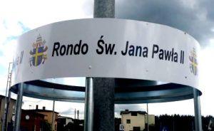 ZDW w Katowicach wyłonił wykonawcę zadania polegającego na zagospodarowaniu ronda im. Jana Pawła II w Drutarni