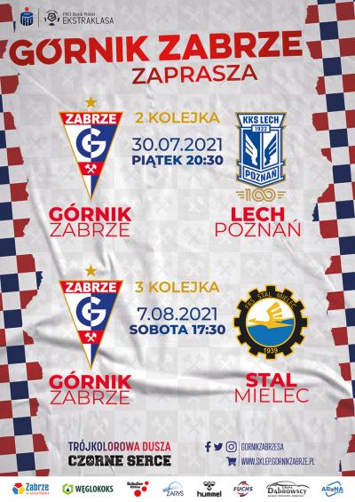 grafika do wpisu: Górnik Zabrze zaprasza na mecz!