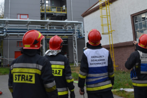 Ćwiczenia służb ratowniczych na terenie zakładu Nitroerg
